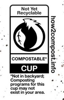HOW2COMPOST PACKAGING LABEL